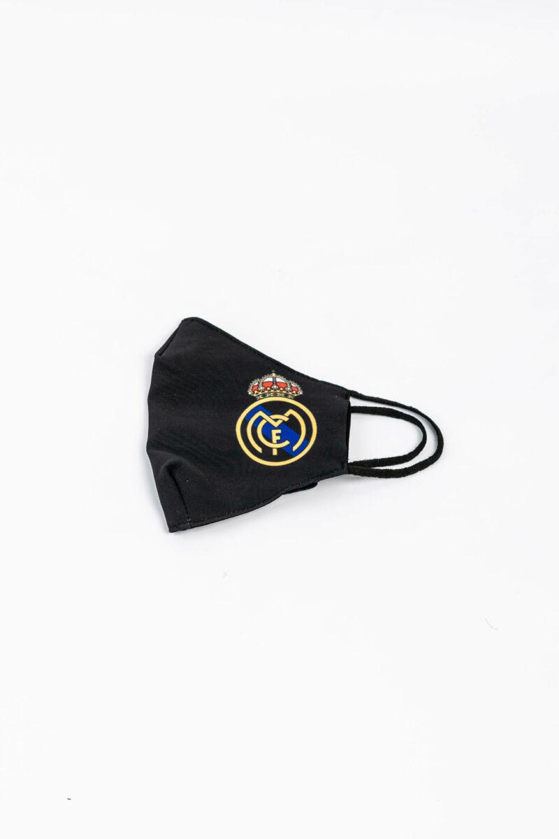 Real Madrid Mintás 2 Rétegű Trendi Textil Szájmaszk