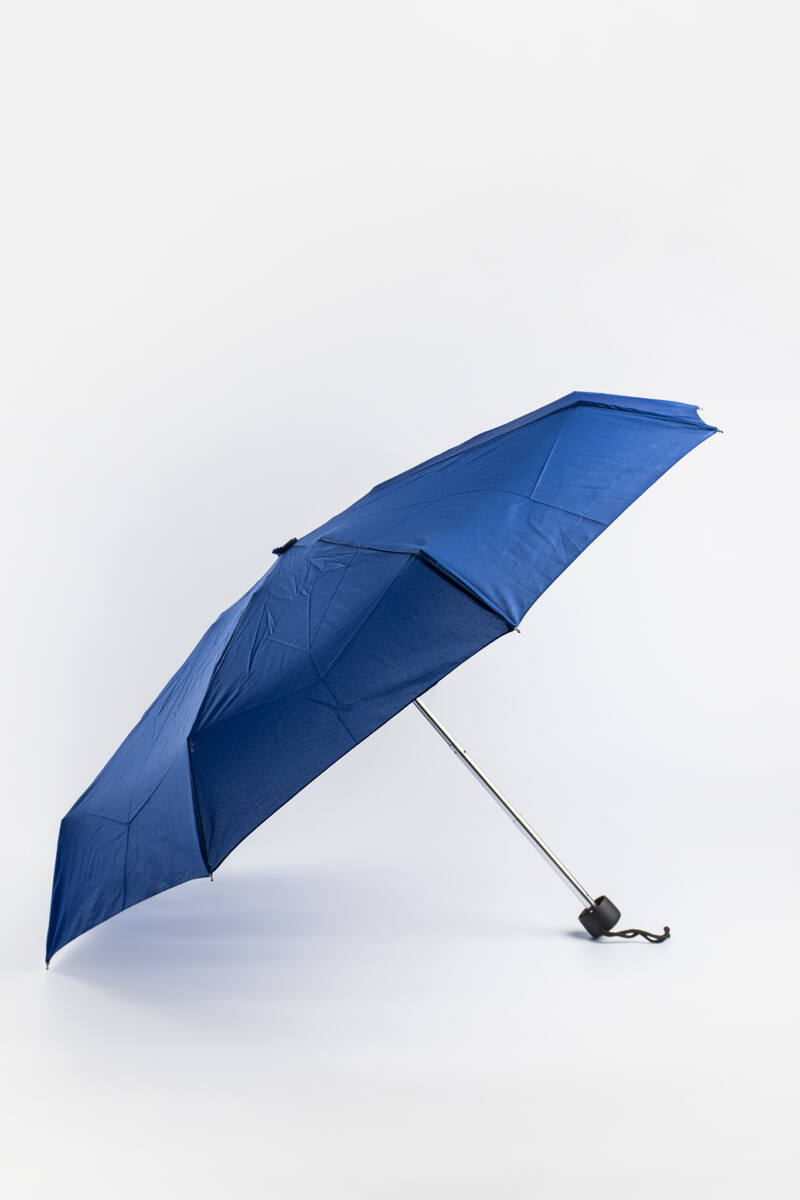 Sötétkék Kis Méretű Összecsukható Egyszínű Esernyő