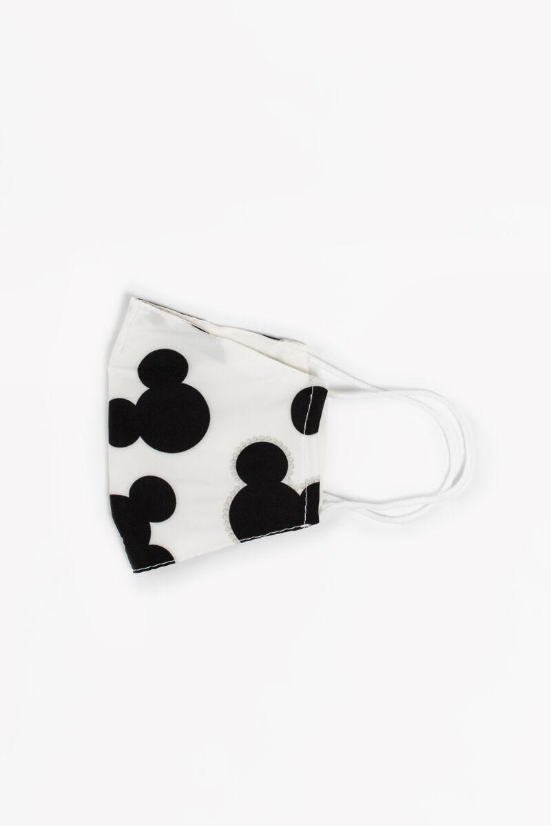 Mickey Mouse Kék 2 Rétegű Trendi Textil Gyerek Szájmaszk