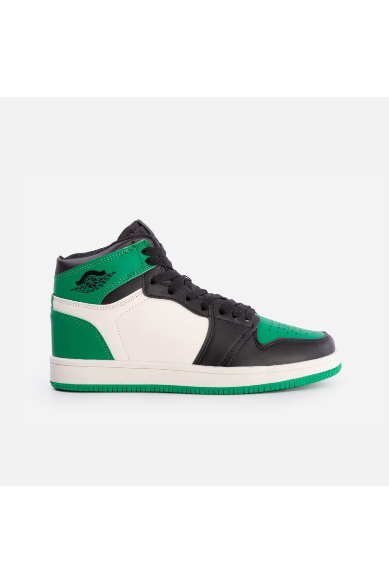Magasszárú utcai cipő (zöld)