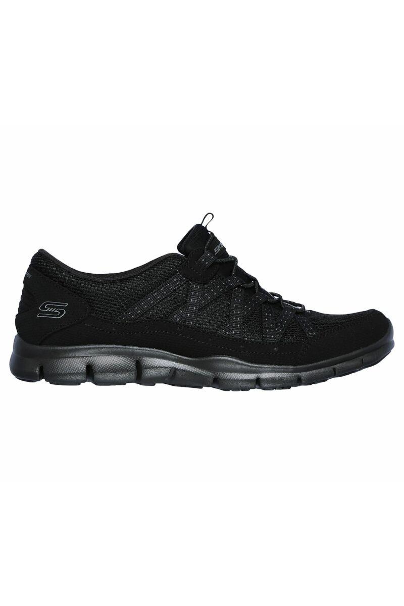 Skechers Gratis - Strolling Fekete női sportcipő