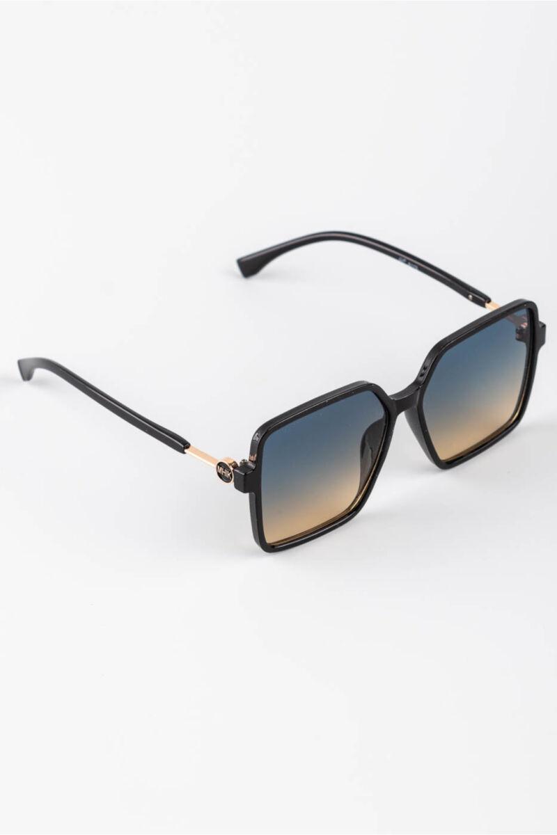 A & ONE Világoskék-Sárga Színátmenetes Lencséjű Nagyméretű Szögletes Napszemüveg