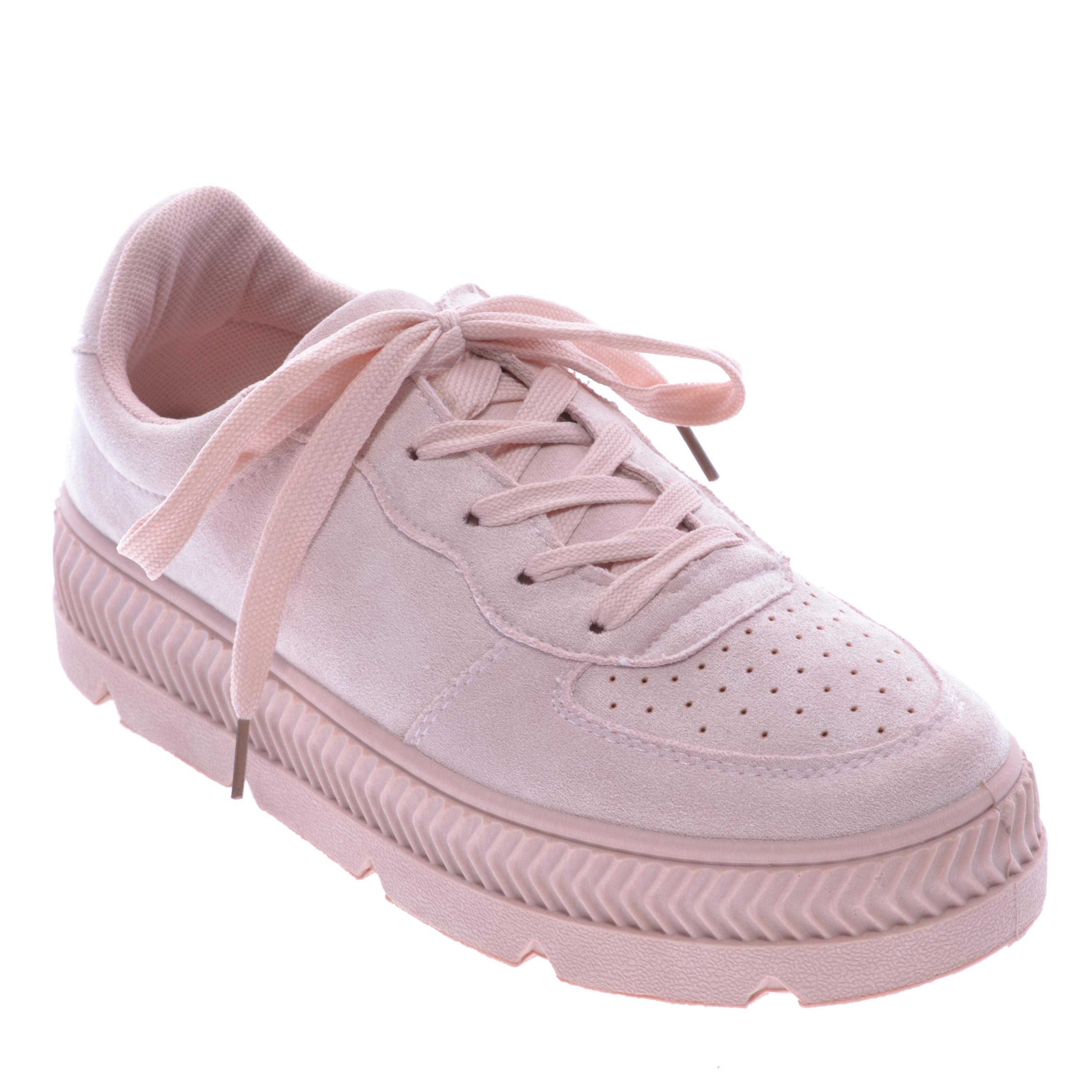 3bf383222726 Női Művelúr Vastag Talpú Cipő Rózsaszín - UTCAI CIPŐK - Női cipő webáruház-női  csizmák, női bakancsok, magassarkúk, női gumicsizma, magassarkú csizma, ...