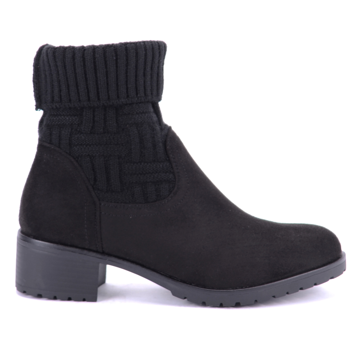 Seastar Fekete Művelúr Bokacsizma - BOKACSIZMÁK - Női cipő webáruház-női  csizmák b9500f9ebe